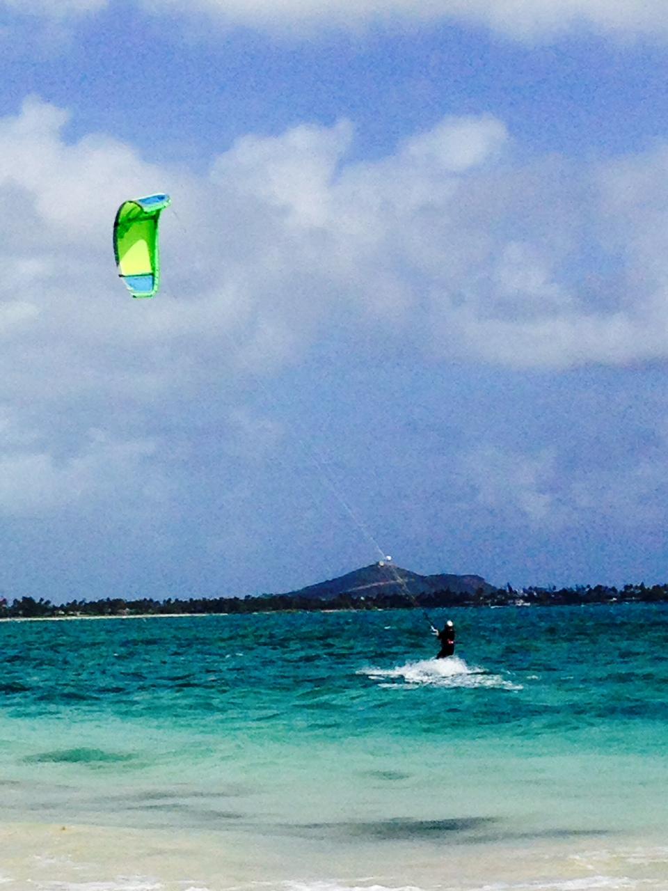 Windsurfer, Kailua Beach
