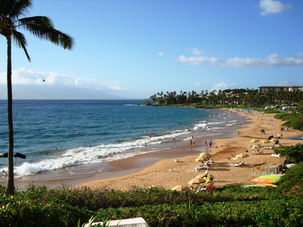 Four Seasons Hotel beach, Maui