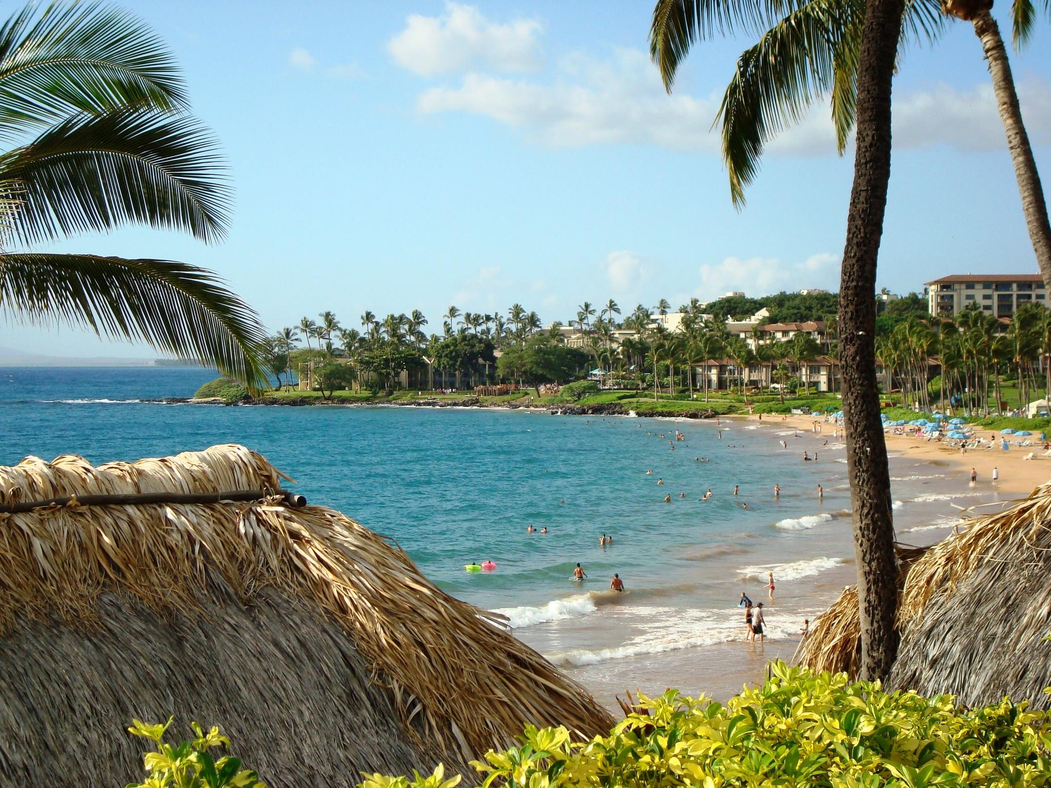 Four Seasons beach, Maui