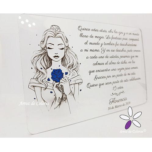 Princesa Bella (Cod AC025)