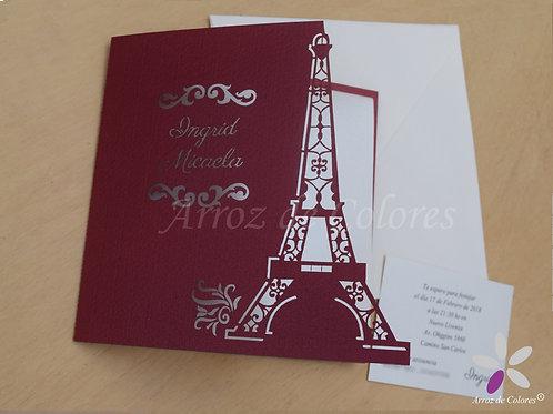 Torre Eiffel (díptico)