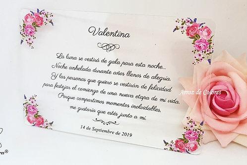 Flores Valentina (Cod AC034)