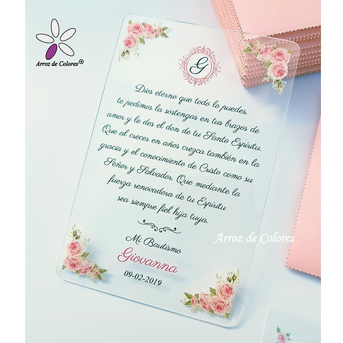 Rosas rosas (Cod AC004)