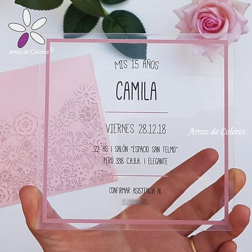 Cuadrada Camila (Cod AC014)