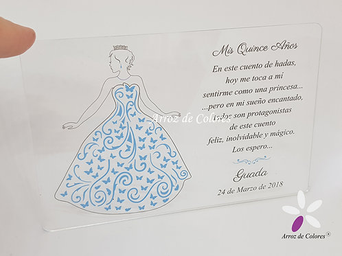 Princesa mariposas (Cod AC027)