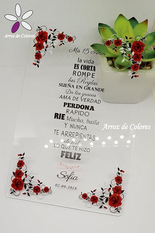 Rosas rojas (Cod AC031)