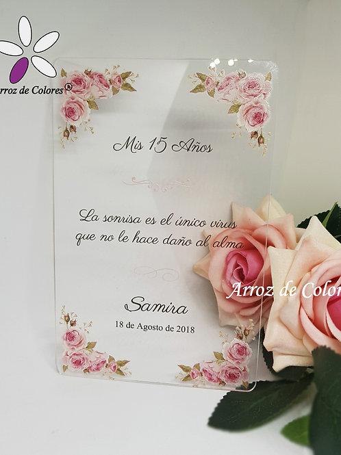 Flores Samira (Cod AC029)