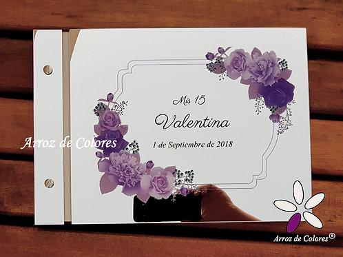 Flores violeta (Cod LF0013)