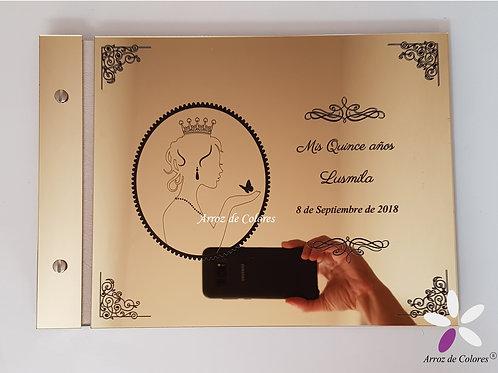 Princesa silueta (Cod LF0014)