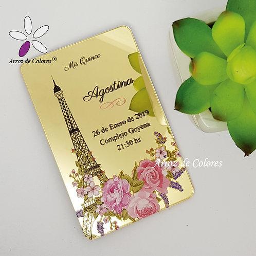 Torre Eiffel Cod TC005)