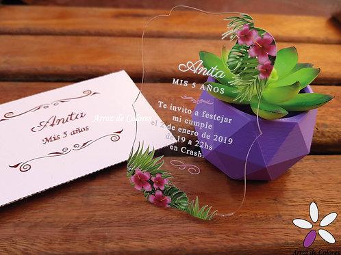 Flores tropicales (Cod AC010)