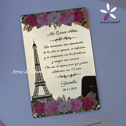 Torre Eiffel 2 (Cod AE002)