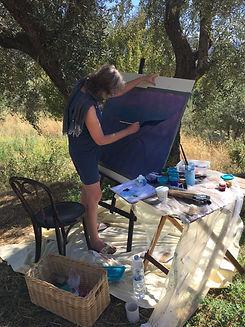 Vedic Art schildercursus Nederland Baarn