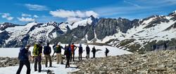 Alpentraversale Snow Field