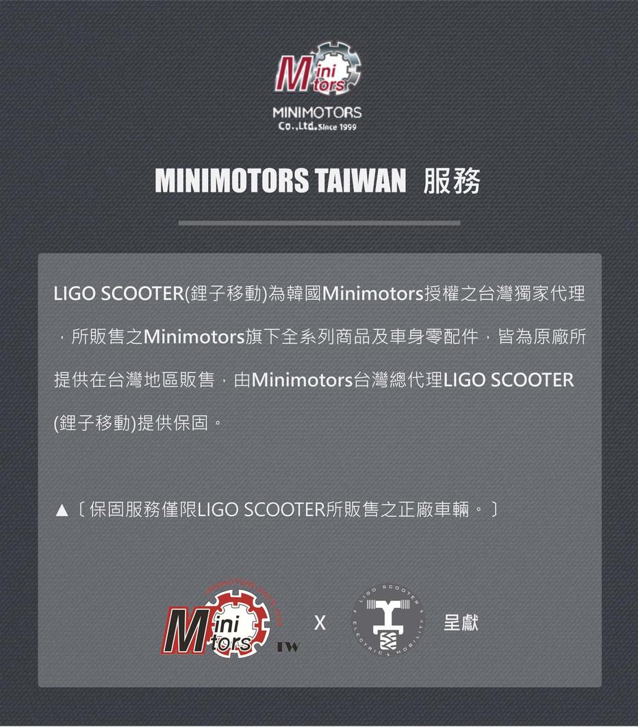 MINIMOTORS TAIWAN服務_LIGO_minimotors授權_獨家