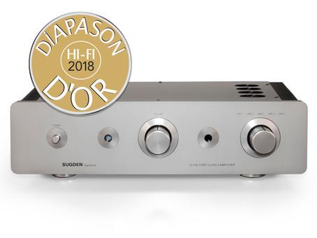 Diapason D'Or Awarded to A21SE Signature