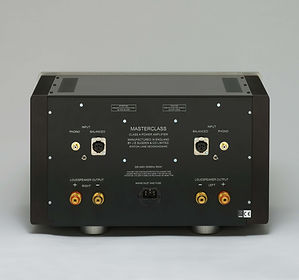 SPA-4 Power Amplifier Back Panel