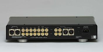LA-4 Pre-amplifier Back Panel