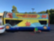 Mystery Machine Scooby Doo Bounce House