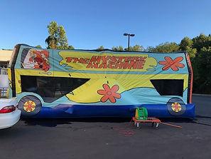 Mystery Machine Scooby Doo Bounce House