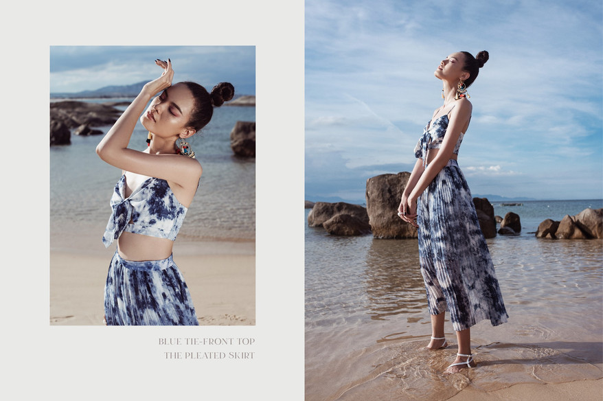 Produce by RED Production Produce by RED Production Creative Direction : Kim Ngân Photographer : Trinh Duy Linh