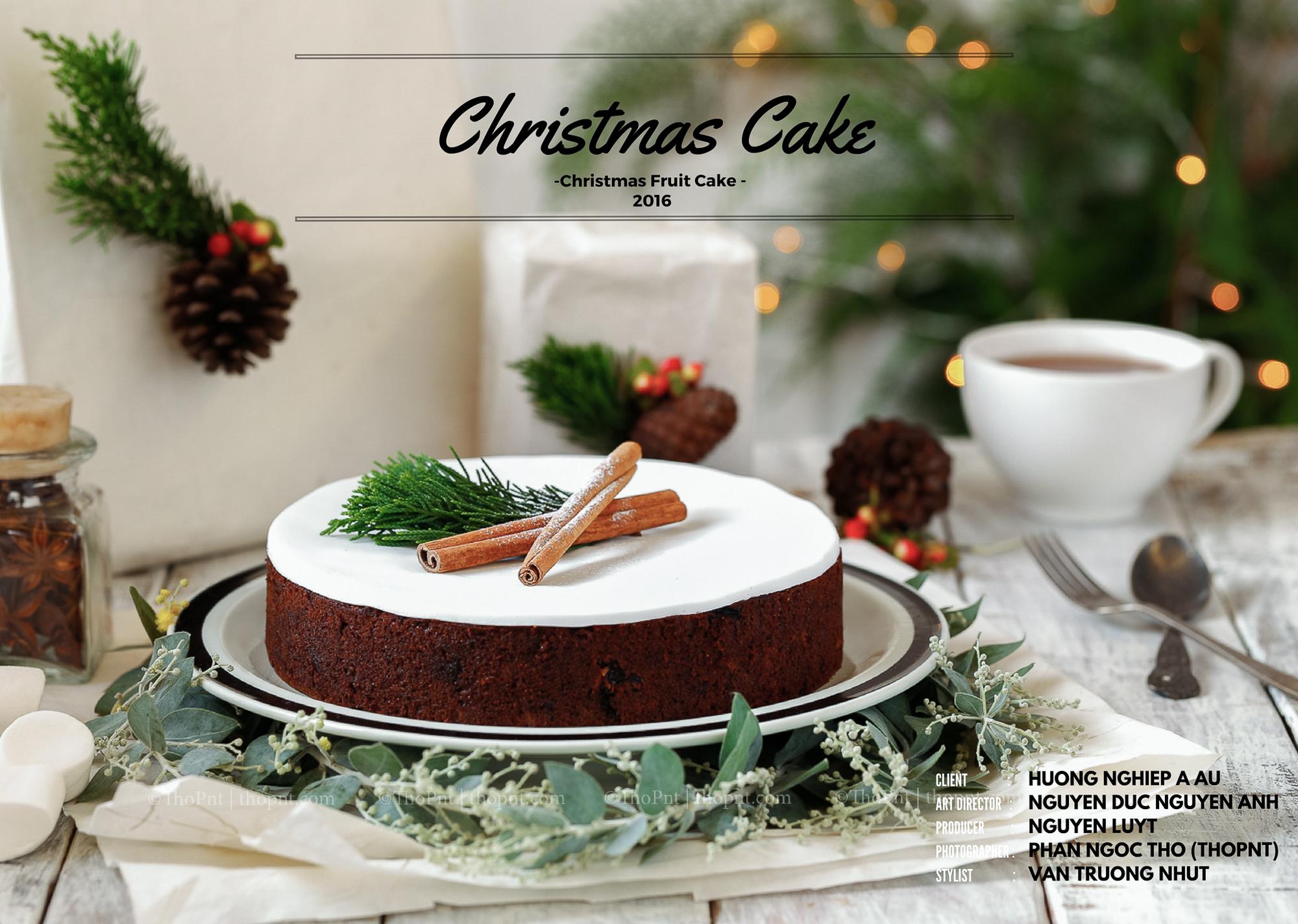 Christmas cake(christmas fruit cake)