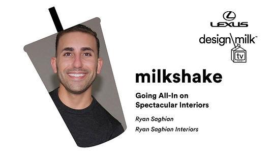 Ryan Saghian Design Milk