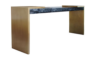 Ryan Saghian Interior Design Hauser Console