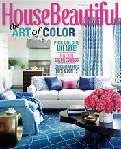Ryan Saghian Interior Design House Beautiful Press Magazine Cover