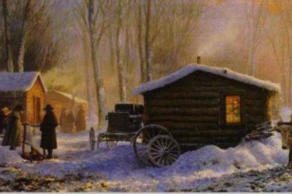 Winter Quarters - Lithograph Greg Olson