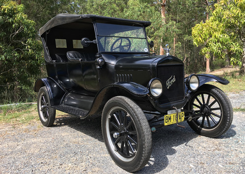 1925 Ford Model T. Fine Art Print