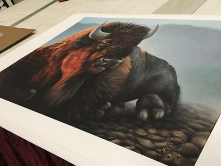 Limited edition canvas prints by artist Ellie Lagrandeur available at our online shop.