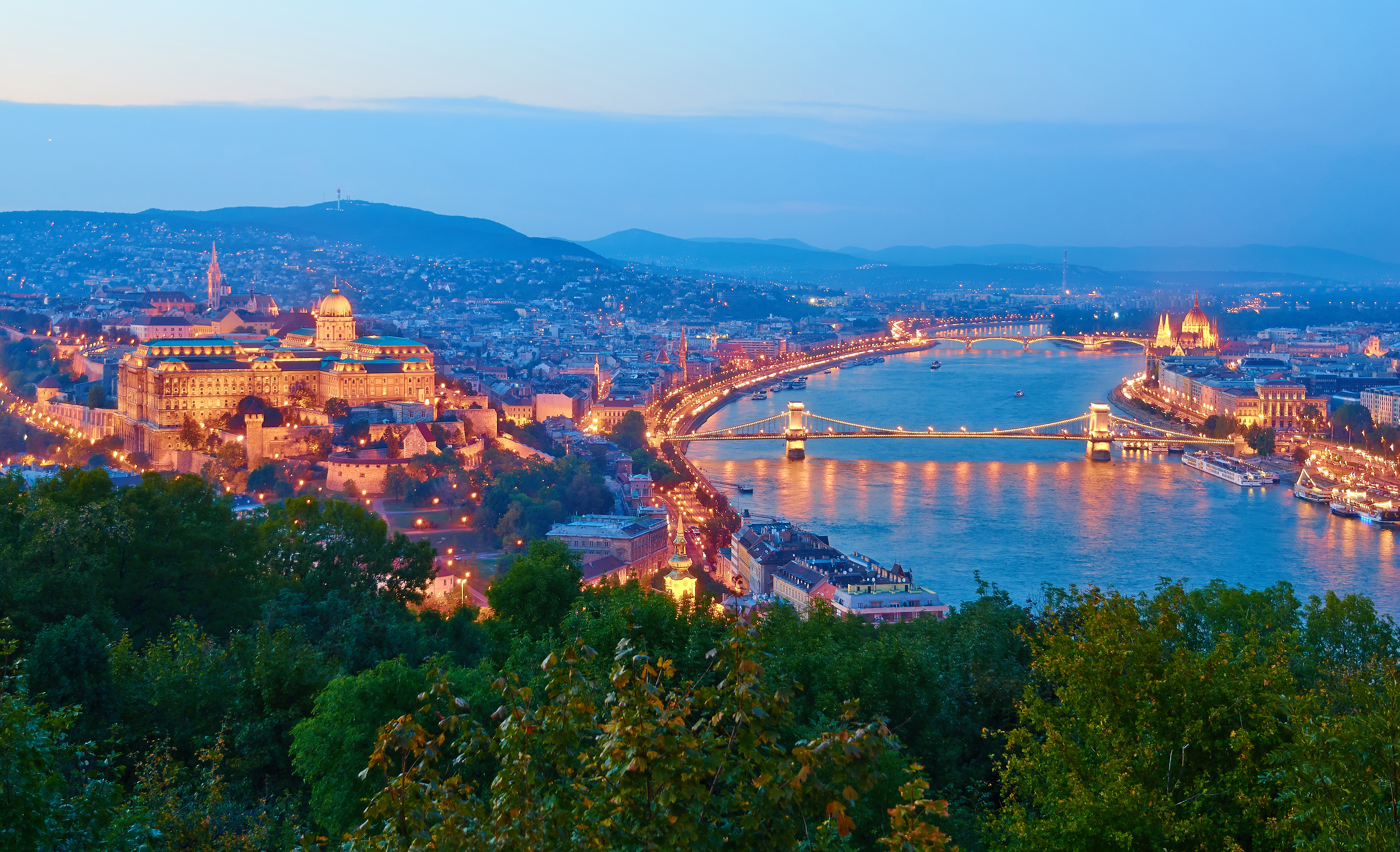 Budapest Colour night