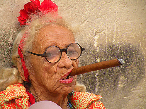 Cuban cigar.