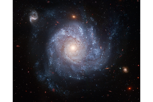 Spiral Galaxy Mounted on Foam Core 8x10