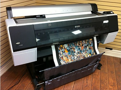 Edmonton archival canvas printing