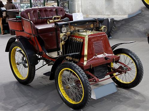 Renault 1900. Fine Art Print