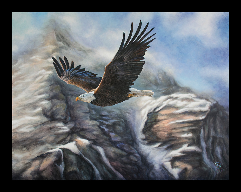 Eagle Canvas Limited Edition