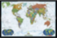 world wall maps edmonton