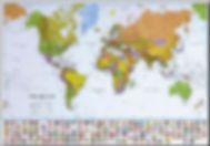 world wall map edmonton