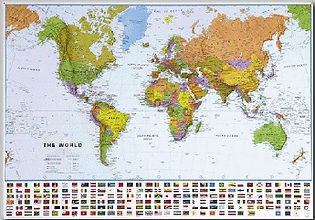 world wall map edmonton