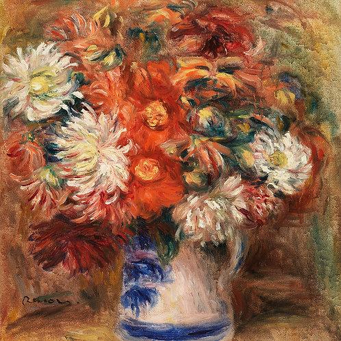 Bouquet (1919) by Renoir Fine Art Print
