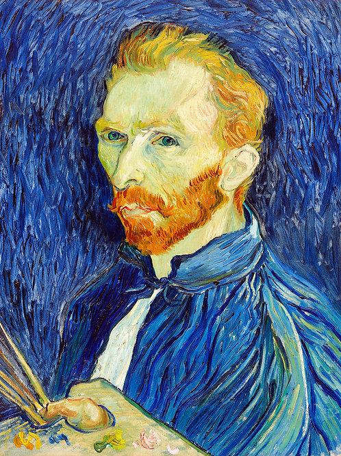 Vincent van Gogh  Self-Portrait, 1889 Fine Art Print