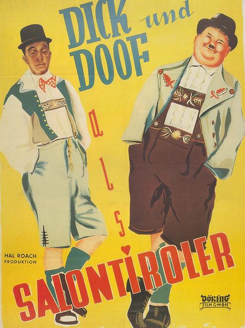 Dick & Doof Poster