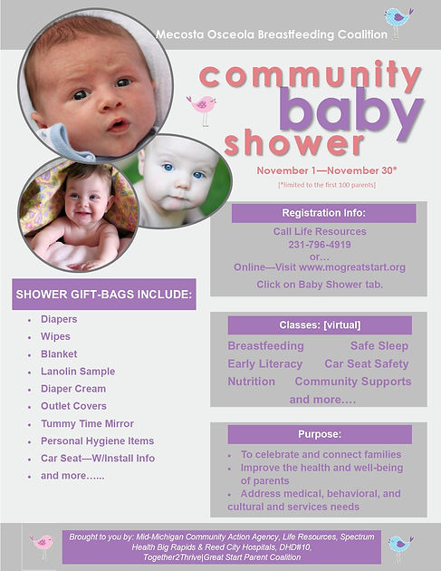 Breastfeeding Support Group Flyer - jpeg