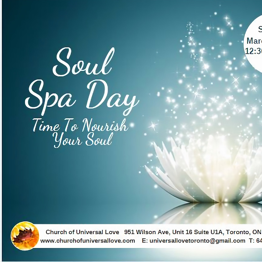 Soul Spa Day With Healers