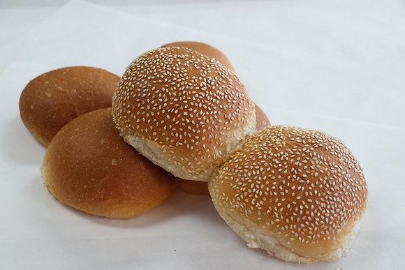 Hamburger Buns, Half Dozen