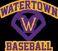 Watertown Baseball Logo White, Gray.png