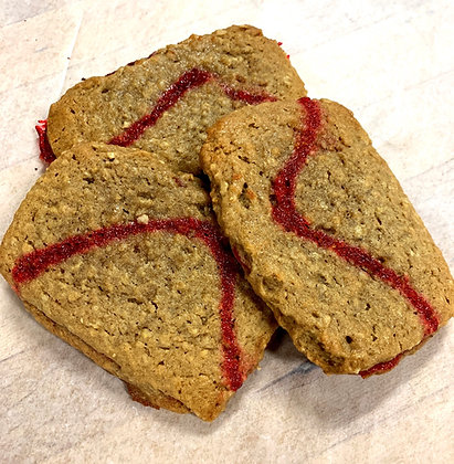 Raspberry Oatmeal Treats