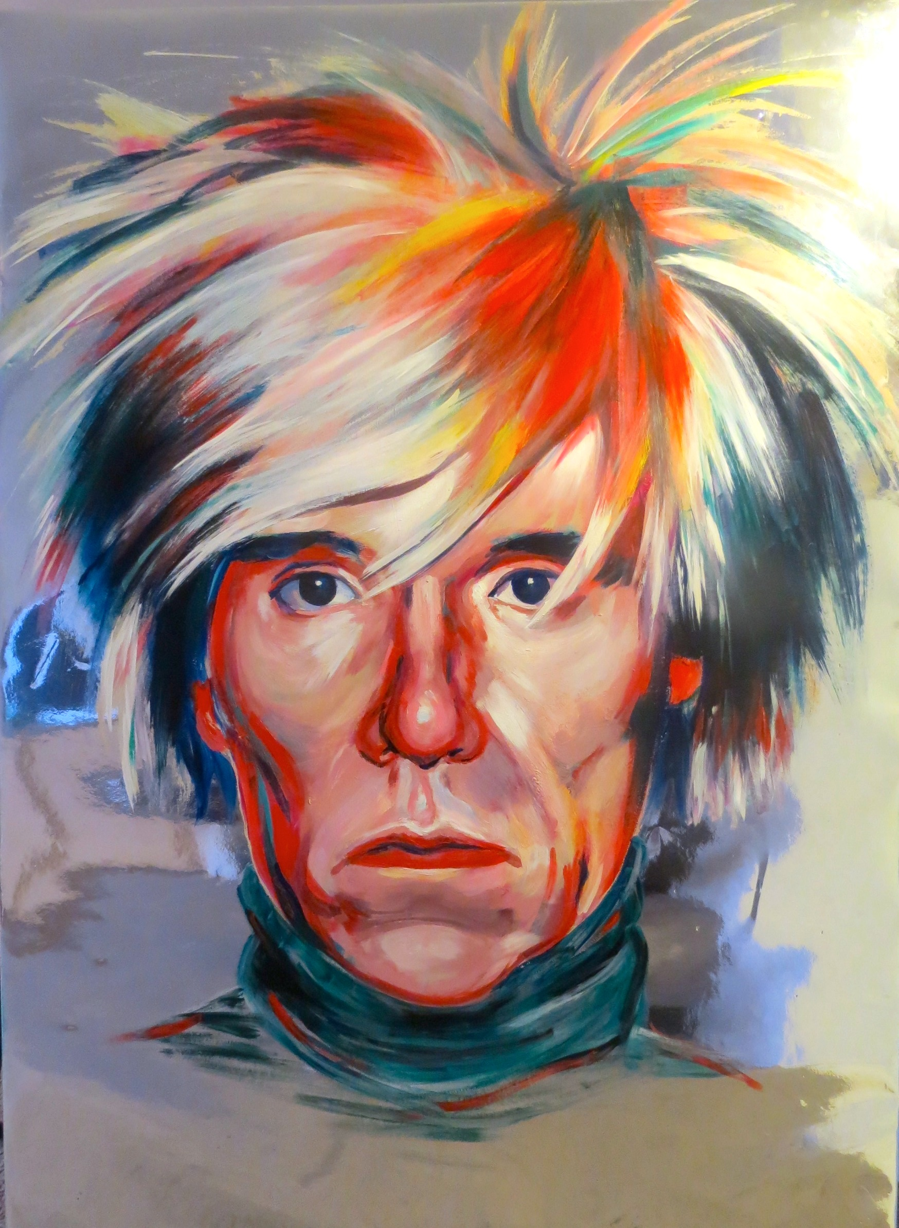 Andy Warhol and His Silver Factory